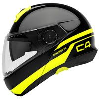 Schuberth C4 Pulse Black Yellow