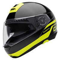 Schuberth C4 Pulse Nero Giallo