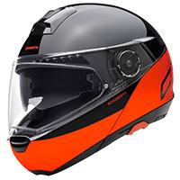 Schuberth C4 Pro Swipe Arancio