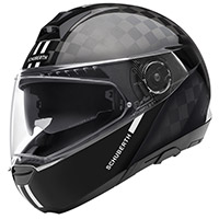 Casco Schuberth C4 Pro Carbon Fusion blanco
