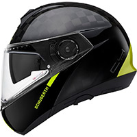Schuberth C4 Pro Carbon Fusion Yellow