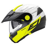 Schuberth E1 Adventure Crossfire Giallo Opaco Fluo
