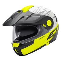 Schuberth E1 Adventure Crossfire Matt Yellow Fluo