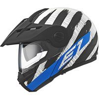 Schuberth E1 Adventure Hunter Blu
