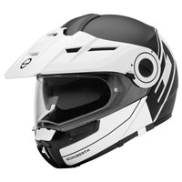 Schuberth E1 Radiant Matt White Black