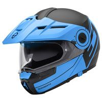 Schuberth E1 Radiant Matt Blue Black