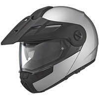 Schuberth E1 Adventure Silver