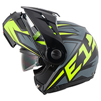 Casco Schuberth E1 Adventure Tuareg Giallo