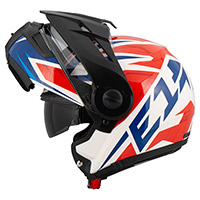 Casco Schuberth E1 Adventure Tuareg rojo