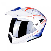 Scorpion Adx-1 Horizon White Red Blue