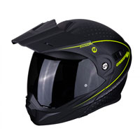 Scorpion Adx-1 Horizon Matt Black Fluo Yellow