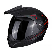 Scorpion Adx-1 Horizon Matt Black Fluo Red