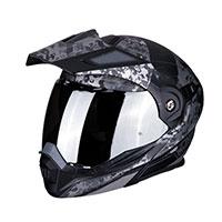 Scorpion Adx-1 Battleflage Matt Black Silver