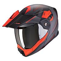 Scorpion Adx-1 Tucson Grigio Opaco Rosso