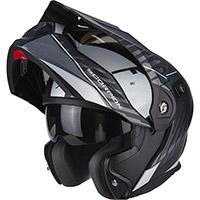 Scorpion Adx-1 Dual Nero Opaco Argento