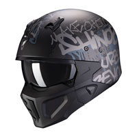 Scorpion Streetfight Covert X Wall negro mate