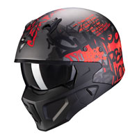 Scorpion Streetfight Covert X Wall rojo mate