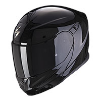 Casco Scorpion Exo 920 Evo Solid negro