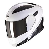 Scorpion Exo 920 Flux Modular Helmet White Black