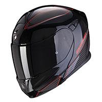 Scorpion Exo 920 Flux Modular Helmet Black Red