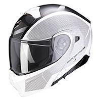 Casco Modulare Scorpion Exo 930 Cielo Bianco Nero