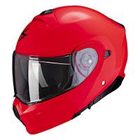 Casco Modulare Scorpion Exo 930 Solid Rosso