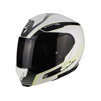 Scorpion Exo-3000 Air Stroll White Fluo Yellow
