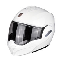 Modular Helmet Scorpion Exo Tech Solid White