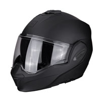 Casco Modulare Scorpion Exo Tech Solid Nero Opaco