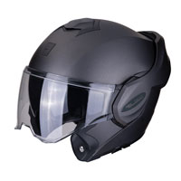 Casco Modulare Scorpion Exo Tech Solid Antracite Opaco