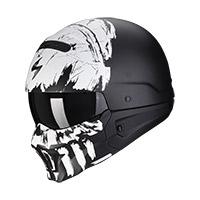 Casco Scorpion Exo Combat Evo Marauder Nero Bianco