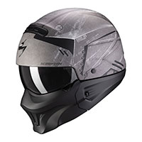 Casco Scorpion Exo Combat Evo Incursion Argento