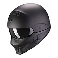 Casco Scorpion Exo Combat Evo Solid Nero
