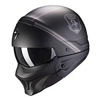Scorpion Exo Combat Evo Unborn Helmet Black