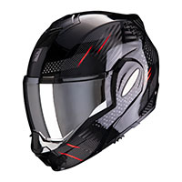 Casco Modular Escorpion Exo Tech Pulse rojo