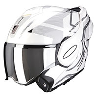 Casco Scorpion Exo Tech Square negro blanco