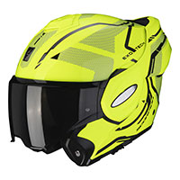 Casco Scorpion Exo Tech Square amarillo