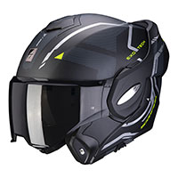 Casco Scorpion Exo Tech Square negro amarillo