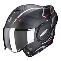 Casco Scorpion Exo Tech Square negro rojo