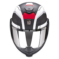 Scorpion Exo Tech Trap Modular Helmet Black Red