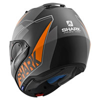 Shark Evo One 2 Krono Matt Black Orange