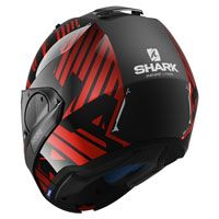 Shark Evo One 2 Lithion Rosso