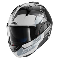Shark Evo-one 2 Slasher White Black Grey