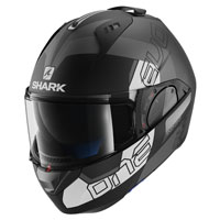 Shark Evo-one 2 Slasher Matt Black Grey White