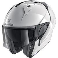 Shark Evo Es Blank Modular Helmet White