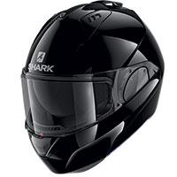 Shark Evo Es Blank Modular Helmet Black