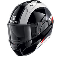 Shark Evo Es Endless Modular Helmet White Red