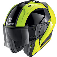 Casco Modulare Shark Evo Es Endless Giallo