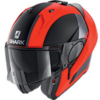 Shark Evo Es Endless Mat Modular Helmet Red