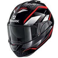 Shark Evo Es Yari Modular Helmet Black Red White